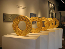 Cinco Soles, 2009 (Exhibit Image) Francisco Pancho Jiménez Slab-built stoneware with glaze Courtesy of the artist