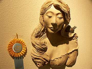 Honorable Mention Sculpture: Patti Hallowes