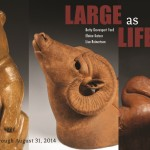 LARGE AS LIFE: Betty Davenport Ford, Elaine Katzer, Lisa Reinertson