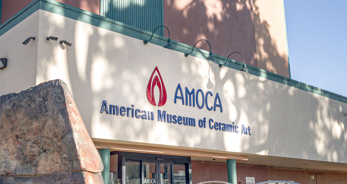 Pictured: the entrance to AMOCA, which is hosting a mobile museum info session on September 8, 2021