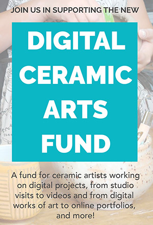 A special initiative to support artists creating our remarkable digital content, from studio visits to videos and from digital works of art to online portfolios, and more
