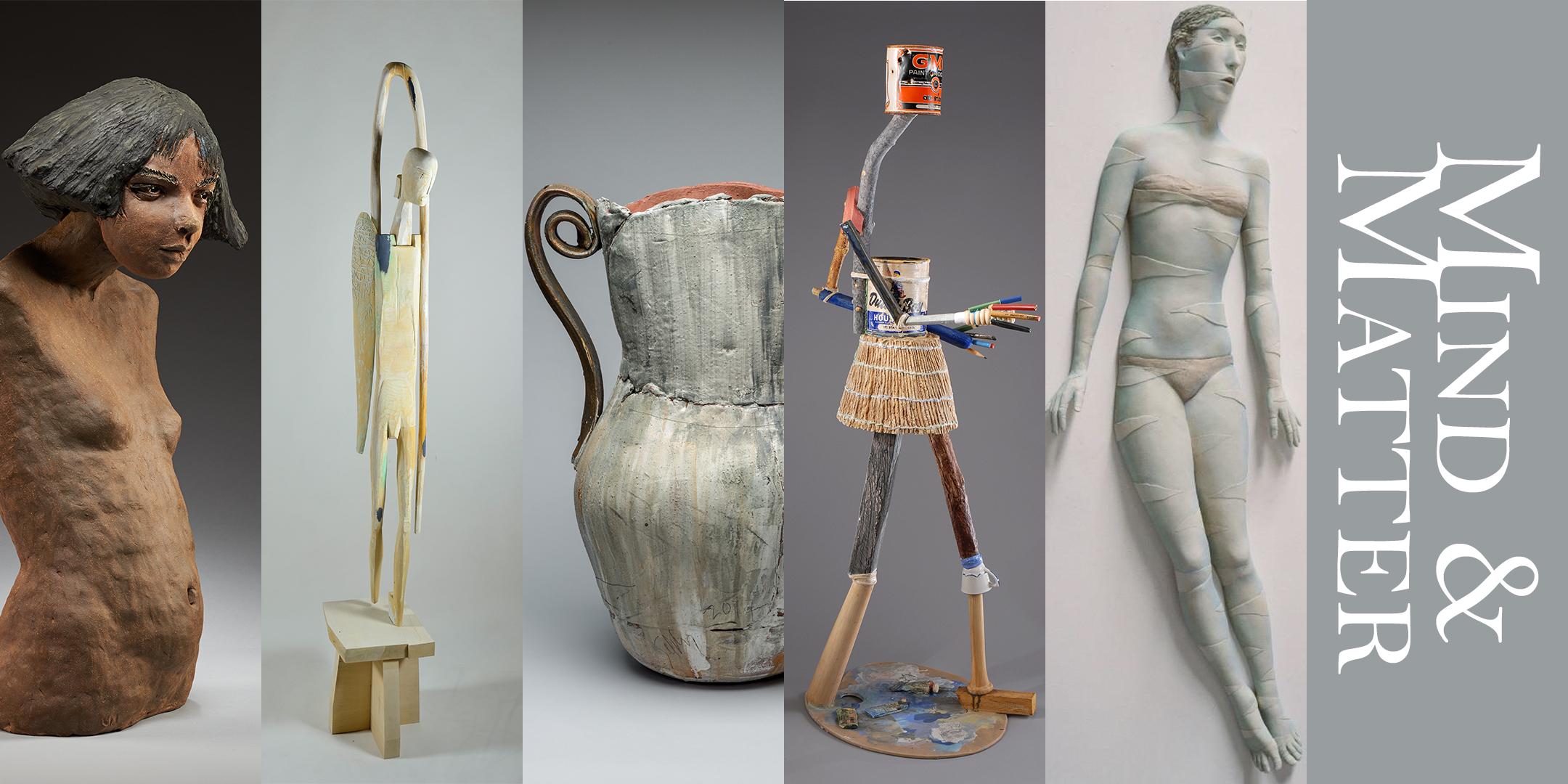 Mind & Matter: 5 Bay Area Sculptors